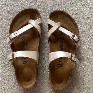 Birkenstock Sandals, pearl